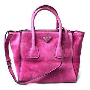 PRADA BN2625 SCAMOSCIATO Shoulder Bag Hand Bag